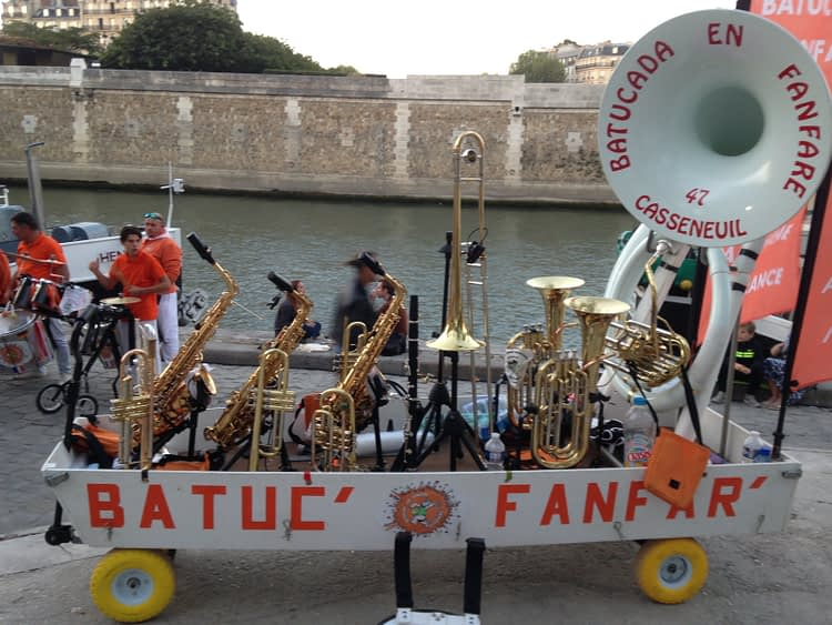 Batucada en Fanfare