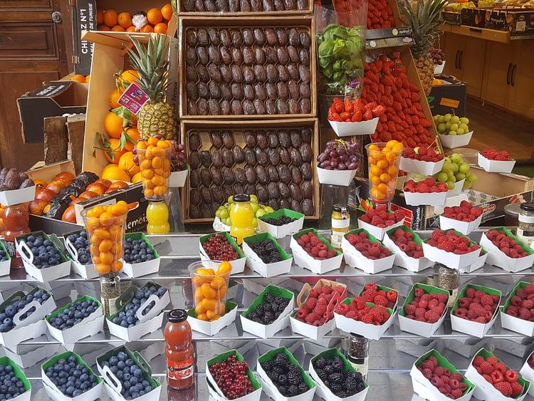 Mouffetard fruits