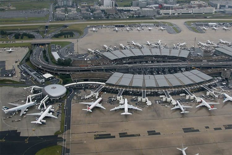 CDG Aerial view