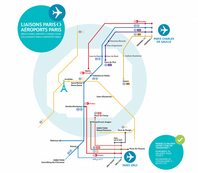 Airports Access Map